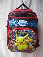 Рюкзак школьный (42х28 см) Покемон оптом и в розницу 7 км