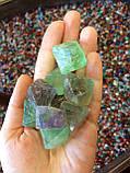 Флюорит кристалл, октаэдр флюорита., фото 2