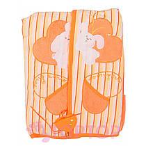 Одеяло оранжевое 85х95 см