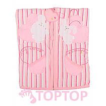 Одеяло розовое 85х95 см