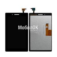 Дисплей для Lenovo Tab 3-710 Essential черный, с тачскрином