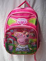 Рюкзак школьный (42х28 см) Свинка Пеппа оптом и в розницу 7 км