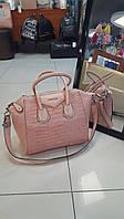 Стильная женская большая сумочка Givenchy, с плечевым ремнем, в двух  цветах. Материал: эко-кожа.