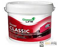 ТМ Green Line DECOR Classic «камешковая» готовая декоративная акриловая штукатурка, 25 кг.