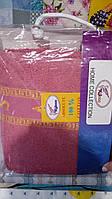 Полотенце  махровое сауна  на липучке Розовое