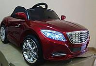 Детский электромобиль Mercedes Cabrio 2188, бордо