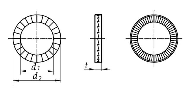 чертеж DIN 25201