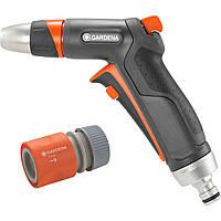 Пистолет для полива Gardena Premium + коннектор с автостопом Gardena