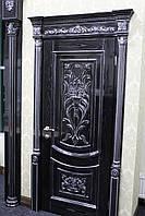 Дверь из натурального дерева (ясень)