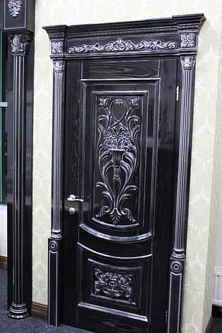 Дверь из натурального дерева (ясень), фото 2