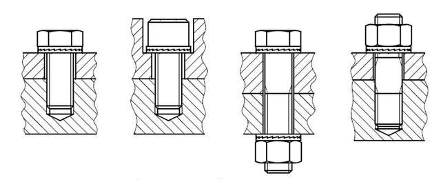 способы установки DIN 25201