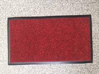 Коврик на резиновом основании 600х345 мм, красный