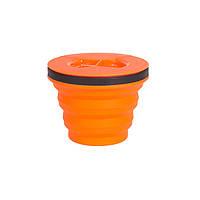 Складная кастрюля с крышкой Sea To Summit XSeal & Go S orange