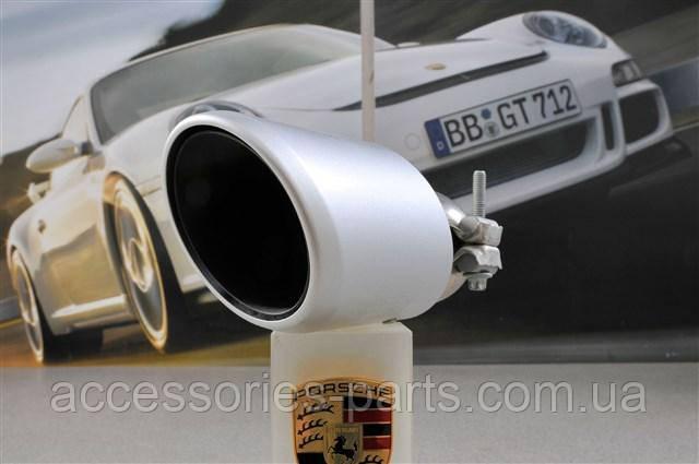 Насадка на вихлопну трубу LH (ліва) | Porsche Cayenne 11-2015 Нова Оригінальна