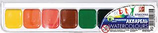 Фарби акварельні Луч медові 8 кольорів Класика без пензлика 19С1284-08