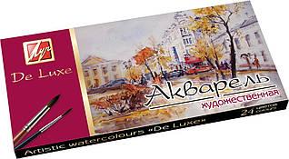 Фарби акварельні Луч медові 24 кольори Люкс без пензлика 14С1039-08