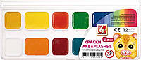 """Акварель """"Міні"""" 12 кол. мед. б/п п/к 19С1249-08 (4601185007202)"""