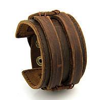 Браслет на руку коричневий, фото 1