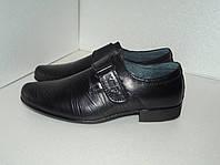 Кожаные туфли для мальчика, р. 31 - 36