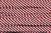 Шнур плоский 15мм (100м) белый+красный