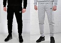 Спортивные брюки, штаны Adidas, трикотажные на манжетах!