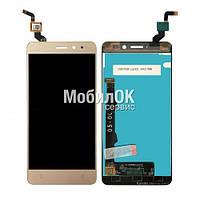 Дисплей для Lenovo K6 (K33a48)/ K6 Power (K33a42) золотистый