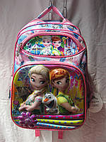Рюкзак школьный (30х41 см) Холодное сердце оптом и в розницу 7 км