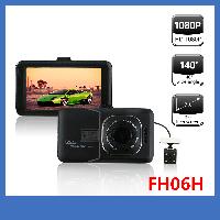 Авторегистратор FH06H + камера заднего вида + Full HD камера 5 Мп и фото 12Мп