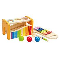 Детский ксилофон с шариками Hape (E0305)