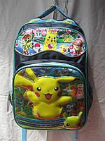 Рюкзак школьный (30х41 см) Покемон оптом и в розницу 7 км