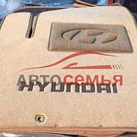 Ковры текстиль Hyundai Tucson 2015- Саchemire SI черный 3D (5шт/комп.)