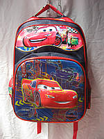 Рюкзак школьный (30х41 см) Тачки оптом и в розницу 7 км