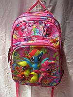 Рюкзак школьный (30х41 см) Пони оптом и в розницу 7 км