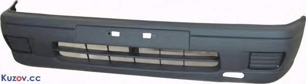 Передний бампер Nissan Sunny 91-96 серый (FPS)