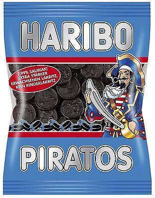 Жевательные конфеты Haribo Piratos лакричные 200г, фото 2