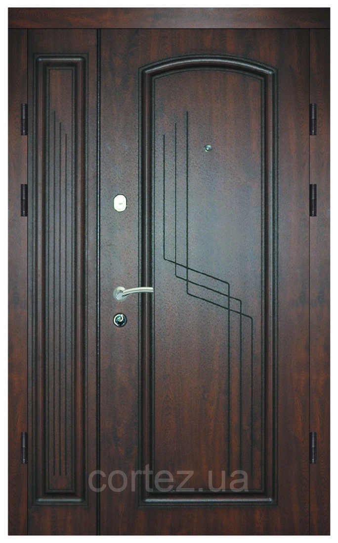 Двери Люкс входные, модель 52