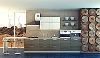 Кухня ЖАСМИН (RODA): высокоглянцевый фасад из МДФ с ПХВ-пленкой