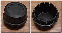 Колпак ступицы Ваз 2108 черный пл.с резинкой