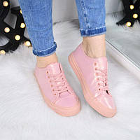 Кеды женские Alpha розовое золото 3462, спортивная обувь