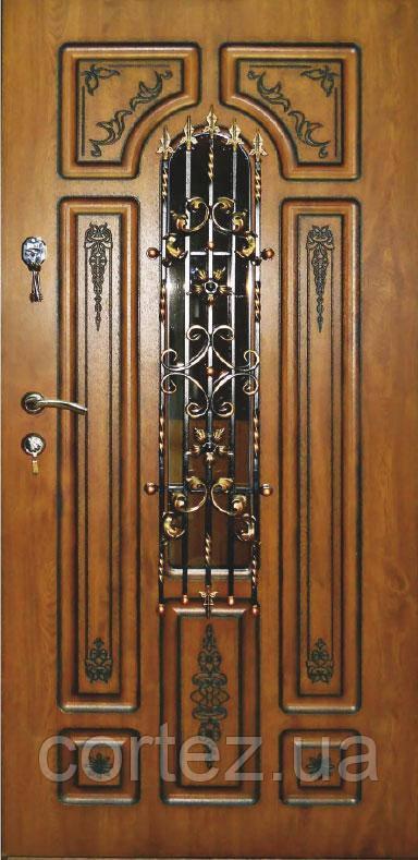 Двери входные Люкс, модель 58
