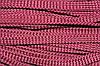 Шнур плоский 15мм (100м) бордовый