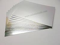 Подложка для торта золото-серебро 30 х 40 см
