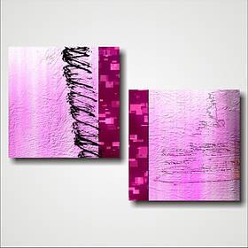 "Модульная картина ""Pink light"""