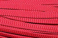 Шнур плоский 15мм (100м) красный , фото 1