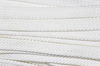Шнур плоский 15мм (100м) белая