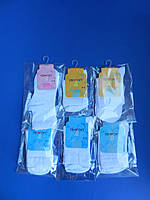 """Шкарпетки (30-32, 19-20 см) ВІСКОЗА АЖУРНІ """"Rewon"""" Білі Польща"""