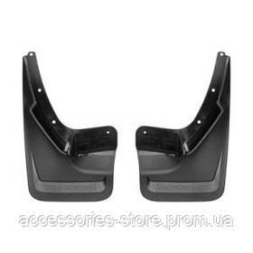 Брызговики задние для Mercedes GLC, черные , структурная поверхность