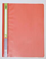 Скоросшиватель пластик. А4 красный без перфорации L3646-06