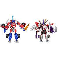 Трансформер-конструктор Hasbro Transformers  Констракт-Боты. Оптимус Прайм и Мегатрон