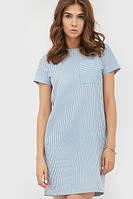 Жіночий повсякденне голубе плаття Zefir